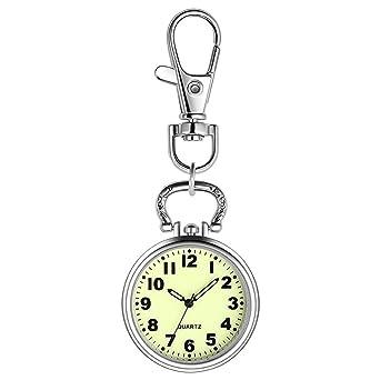 Nurse Pocket Watch Digital analógico Llavero electrónico ...