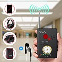 "Anti-spy Camera Bug RF Siganl Detector [Enhanced Version], Dooreemee Wireless Hidden Camera GPS Tracker Higher Sensitivity Multi-functional GSM Device Finder(2"" X 0.6"" X 2.9"", 1.6oz, Handheld)"