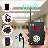 "digital camera with gps - Anti-spy Camera Bug RF Signal Detector [Enhanced Version], Dooreemee Wireless Hidden Camera GPS Tracker Higher Sensitivity Multi-functional GSM Device Finder(2"" X 0.6"" X 2.9"", 1.6oz, Handheld)."