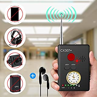 "Anti-spy Camera Bug RF Signal Detector [Enhanced Version], Dooreemee Wireless Hidden Camera GPS Tracker Higher Sensitivity Multi-functional GSM Device Finder(2"" X 0.6"" X 2.9"", 1.6oz, Handheld)"