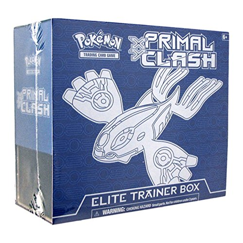 Pokémon Trading Card Game: XY — Primal Clash Sealed Kyogre Elite Trainer Box by Pokmon