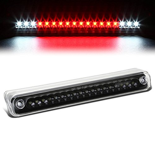 For Chevy/GMC C/K-Series GMT400 High Mount LED 3rd Brake/Cargo Light (Black Housing Clear Lens)