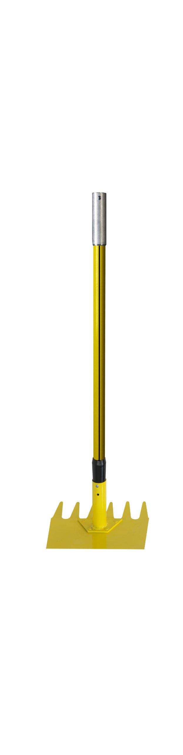 Nupla E-FHR NuPole Fire System McLeod Hoe/Rake Head, 3' Length