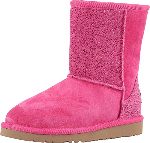 UGG Kids Classic Short serein Boot Diva Pink Size 4 M US Big Kid Pink Uggs