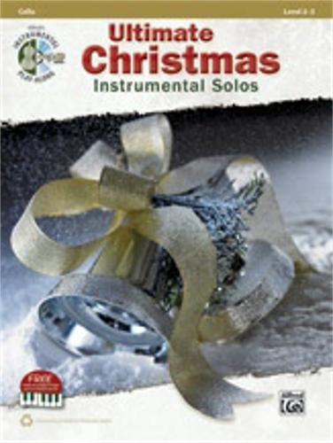 Christmas Tenor Cello - Alfred Ultimate Christmas Instrumental Solos Cello Book & CD