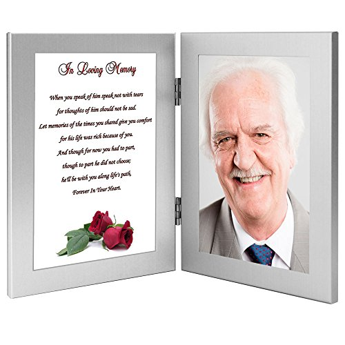 Man Sympathy Gift - In Loving Memory of a Husband, Father...