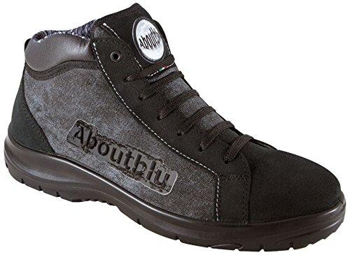 Aboutblu 1928804LA41 Chicago Mid Sneaker Sicherheit, Gr. 41