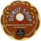 Coffee People Donut Shop Regular Medium Roast Extra Bold, K-Cup Portion Pack for Keurig K-Cup Brewers 24-Count (Pack of 2)