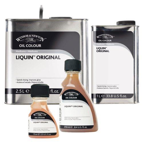 W& N Liquin Fast Dry Oil/Alkyd Painting Medium 1000ml (33.9oz) bottle Winsor & Newton