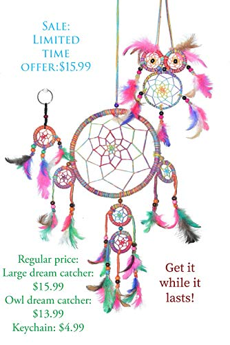 Buy dream catcher keychain kit