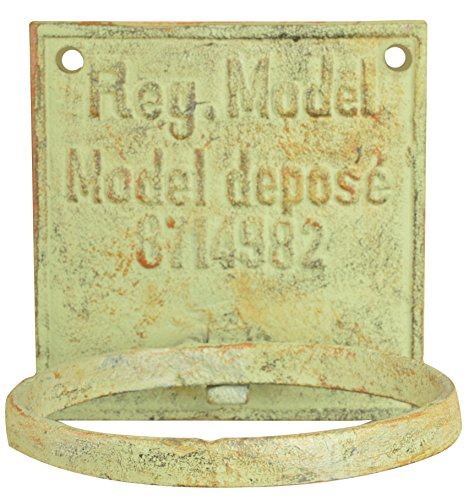 (Esschert Design IH028 Industrial Heritage Flower Pot Holder - Metal)