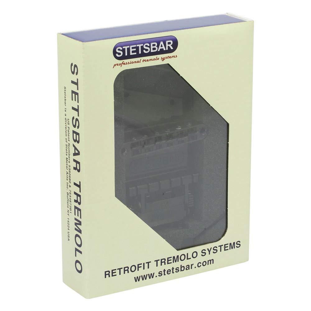Stetsbar Telecaster Style Black Chrome Tremolo System