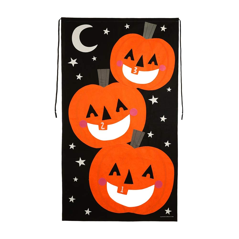 Bornbayb Halloween Bean Bag Toss Games with 3 Bean Bags Halloween Hanging Decorations Party Gift for Kids