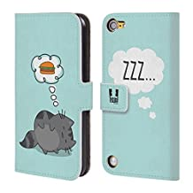 Head Case Designs Dream Wilbur The Cat Leather Book Wallet Case Cover For iPod Touch 5th Gen / 6th Gen