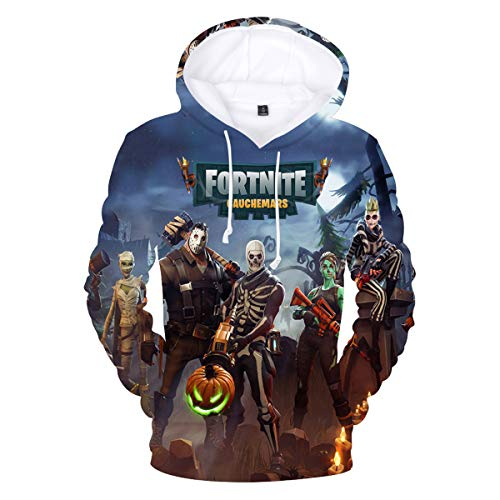 ovelty Youth Game Unisex Sweatshirt Pullover Pocket (N-M) ()
