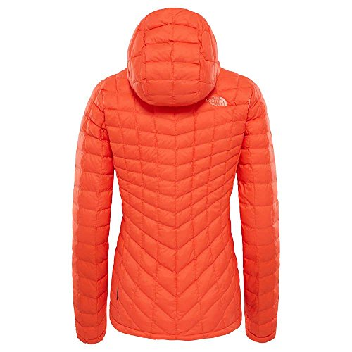 North Briquefire Brick Kapzenjacke Pour Femme The Face Red À Thermoball Rouge Capuche n0PXNwO8k