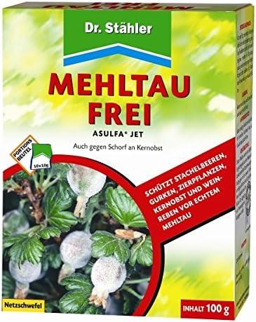 mildiu libre asulfa Jet Red azufre 100 g: Amazon.es: Jardín
