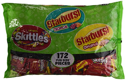 Skittles/Starburst Fun Size Mix (172 Count)