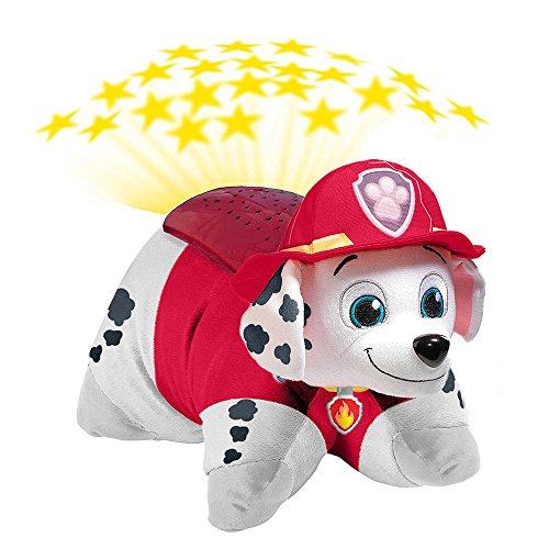 [PAW Patrol Marshall Dream Lite Plush Pillow Pets Toy Projects 4 Colors Stars] (Doc Mcstuffins Hippo Costume)