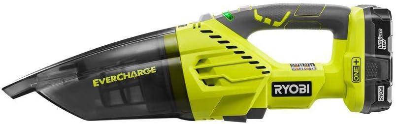 Ryobi ZRP714K 18V One+ Evercharge - Aspiradora de mano inalámbrica ...
