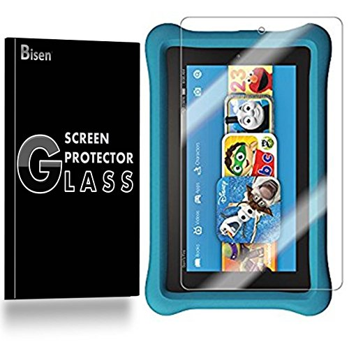Kindle Fire HD 6 Kids Edition (4th Gen, 2014) Tempered Glass Screen Protector [2-PACK, BISEN], Anti-Scratch, Anti-Shock, Shatterproof For Kindle Fire HD 6 Kids Edition (4th Gen, 2014)