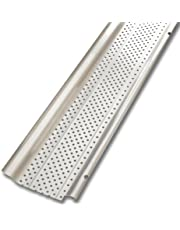 """Smart Screen GPS401 Gutter Protection Covers, Aluminum, 5"""" x 4' (Pack of 5)"""