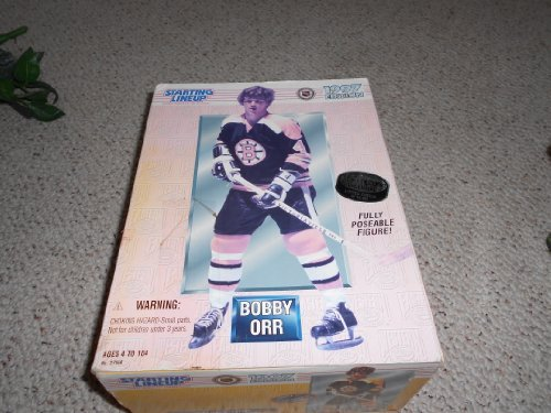 Orr Bobby Merchandise (1997 12 Inch Bobby Orr NHL Starting Lineup Full Poseable Limited Edition Figure)