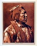 Lone Flag Atsina Native American Wall De