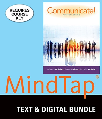 Bundle: Communicate! Loose-leaf version, 15th + MindTap Speech 1 term (6 months) Printed Access Card