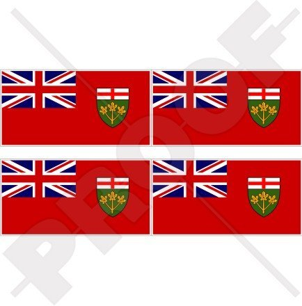 ONTARIO Province Flag CANADA Canadian 2