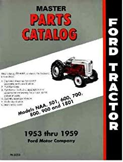 amazon com 1953 1954 1955 ford tractor model naa service manual rh amazon com 1953 ford jubilee tractor repair manual ford golden jubilee repair manual
