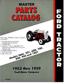 51Ed0bWNAFL._SX258_BO1204203200_ ford naa and golden jubilee tractor parts book master catalog 1953 ford jubilee tractor parts diagram at fashall.co