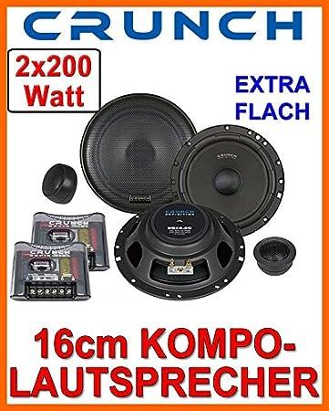 Crunch DSX6.2c - 16cm Lautsprecher Boxen System - Einbauset ...