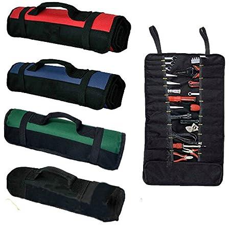 multiusos resistente bolsa de herramientas bolsa de lona organizador de herramientas de jard/ín para electricistas port/átil llaves plegable alicates 38 bolsillos para herramientas
