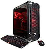 CYBERPOWERPC Gamer Supreme Liquid Cool SLC10060 Gaming PC (Intel i7-8700K 3.7GHz, 16GB DDR4, NVIDIA GeForce GTX 1080 8GB, 240GB SSD+1TB HDD, WiFi & Win 10 Home) Black