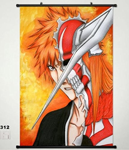 Bleach Kurosaki ichigo Home Decor Japan Poster Wall Scroll H