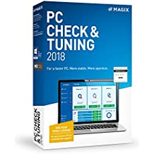 MAGIX PC Check & Tuning 2018, For a Faster Computer, More Stable with More Space