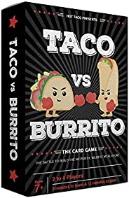 Taco vs Burrito - The Wildly Popular Surprisingly Strategic Card Game Created by a 7 Year Old - A Perfect Fami