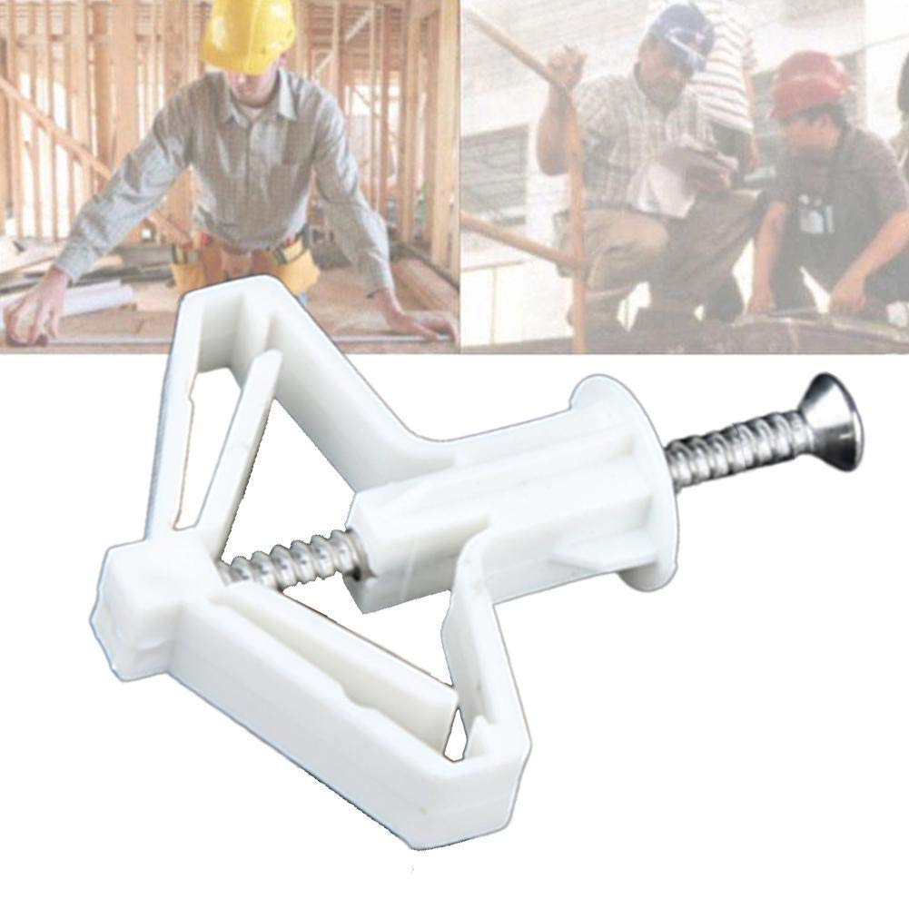5 Pcs Gypsum Board Expansion Pipe Aircraft Expansion Tube Hollow Wall Curtain Gypsum Board Expansion Screw Anchor Bolt Up