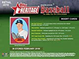 2019 Topps Heritage MLB Baseball Series Factory