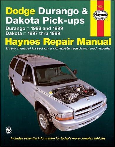Dodge durango 9899 dakota 9799 haynes repair manuals dodge durango 9899 dakota 9799 haynes repair manuals 1st edition fandeluxe Choice Image