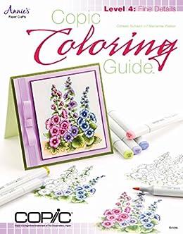 Amazon.com: Copic Coloring Guide Level 4: Fine Details eBook ...