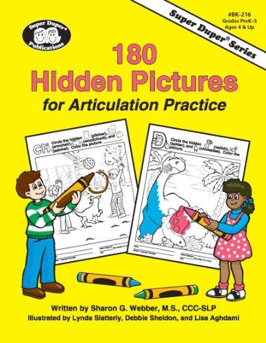 180 Reproducible Activities - 180 Hidden Pictures for Articulation Practice