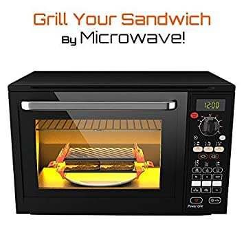 Breakfast Sandwich Maker Microwave Sandwich Grill Cheese Sandwich Toaster Microwave Crisper Cooking Fast and Dishwasher Safe