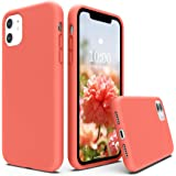 SURPHY Silicone Case for iPhone 11 Case, Liquid Silicone Protective Phone Case Cover (Full Body, Soft Case with Microfiber Li