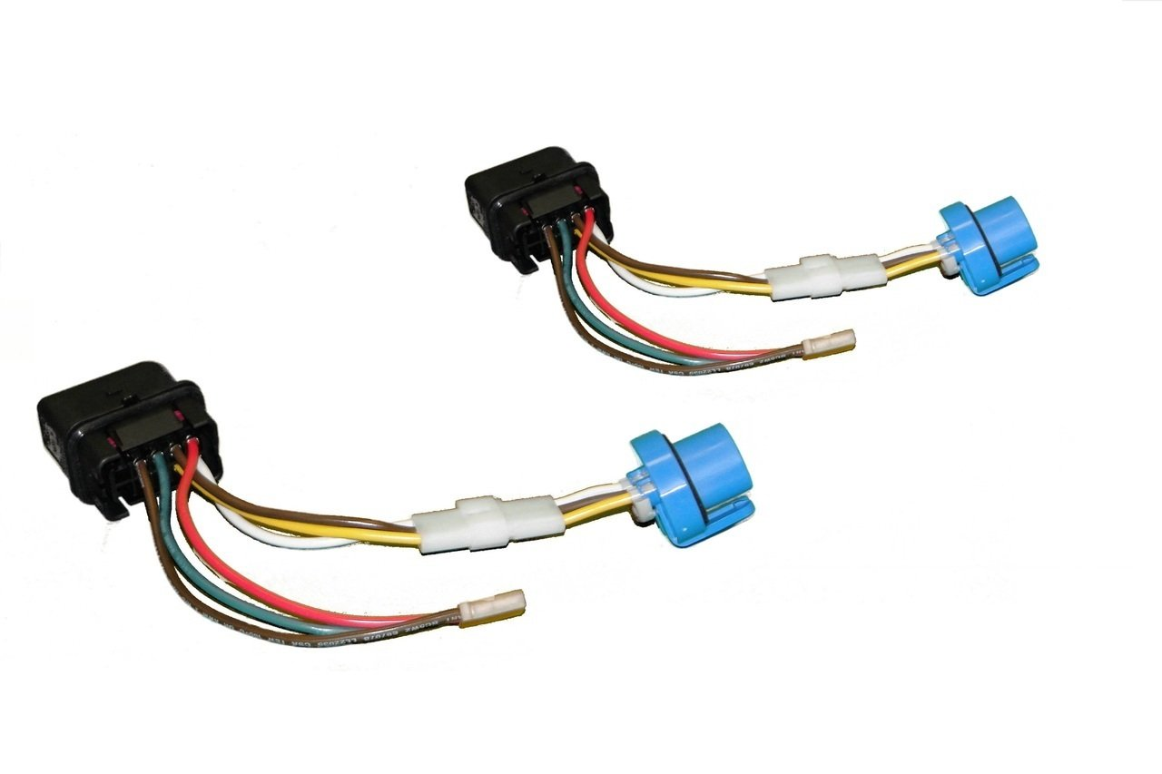 Amazon.com: 2x NEW HEADLIGHT WIRING HARNESS for VW MKIV Jetta 1999.5 - 2005  GENUINE OEM COMPONENTS: Automotive