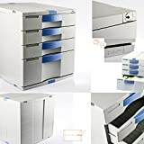 Max Flat File Cabinet 4 Drawers Index Key Lock Home Office Life MK040