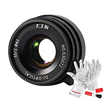 Image of 7artisans 35mm F2 Full Frame Manual Focus Lens for Leica M Mount Cameras Like Leica M2 M3 M4-2 M5 M6 M7 M8 M9 M10 M4P M9p M240 M240P ME M262 M-M CL, Voigtlander M Mount Cameras - Black Mirrorless Camera Lenses
