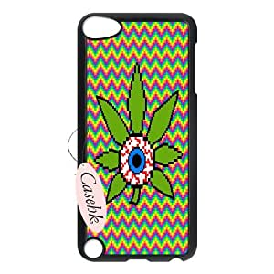 Casehk Cheap Durable Case Cover for iPod Touch 5, Hot Sale WEED iPod Touch 5 Case, WEED DIY Shell Phone Case