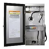Lightkiwi U8810 600 Watt Heavy-Duty Stainless Steel (12V-13V-14V-15V) Multi-Tap Low Voltage Transformer for Landscape Lighting For Sale